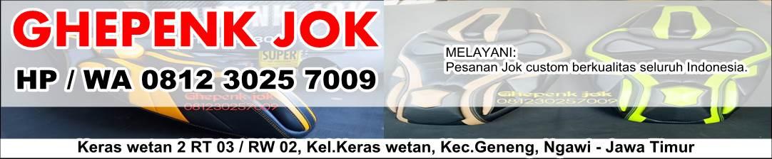 Ghepenk Jok - Custom Jok Motor Ngawi Hp. 0812 3025 7009
